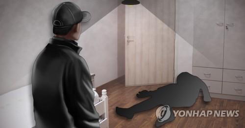 여성 살인_실내 (PG) [최자윤 제작] 사진합성·일러스트