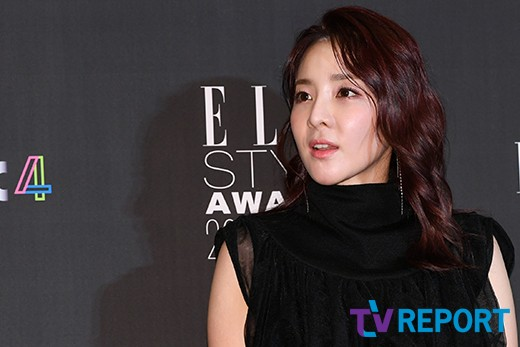 <p> Singer Sandara Park is in 12 Days afternoon in Seoul Gangnam-GU Samsung-Dong Grand Intercontinental Seoul Parnas points out that Tower open at the Elle Style Awards 2018attend to posing.</p>