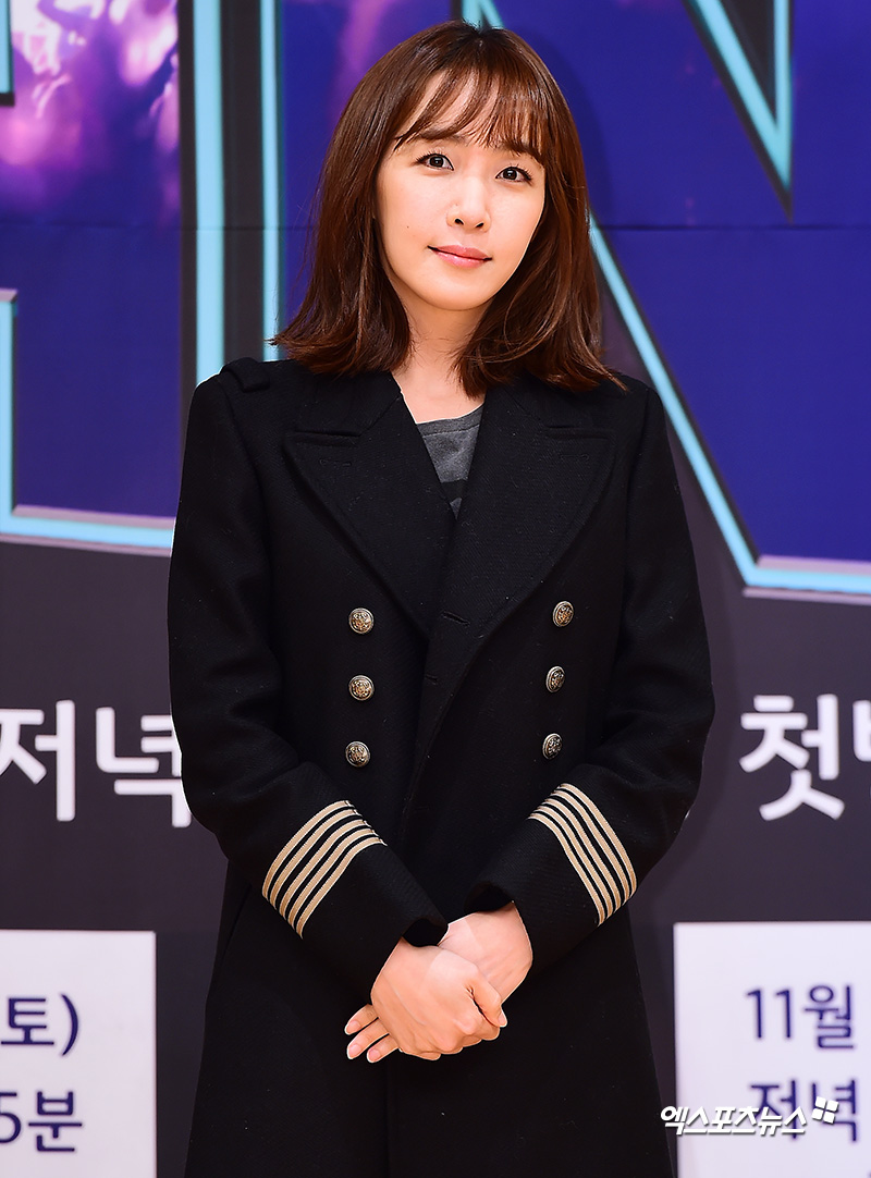 <p> 14 afternoon Seoul MOK-Dong SBS open in SBS new Fly to the Sky more fans(THE FAN) production presentation attend Kim Eana with photo.</p>