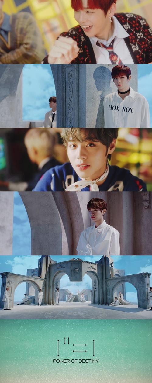 워너원 '봄바람' 발매 사진='봄바람' 뮤직비디오 티저 영상캡처