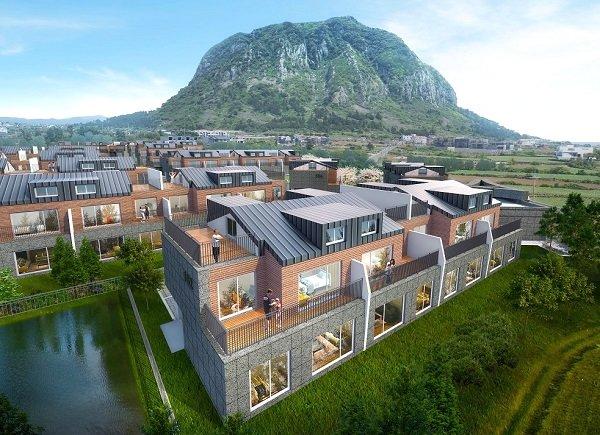 '산방산 코아루 아이비타운', 2019 미래건축문화 타운하우스 부문 ...
