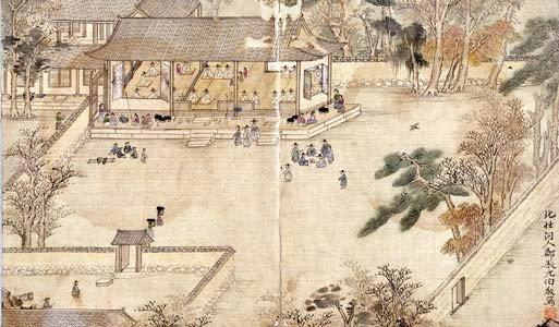 겸재 정선(1676~1754)이 그린 '북원수회도'. [사진 국립중앙박물관]