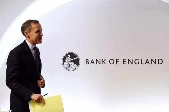 마크 카니 영란은행(BOE) 총재가 28일(현지시간) 런던에서 시나리오별 브렉시트 영향력을 분석한 보고서를 발표하기 위해 기자회견에 참석 중이다. [이미지출처=EPA연합뉴스]