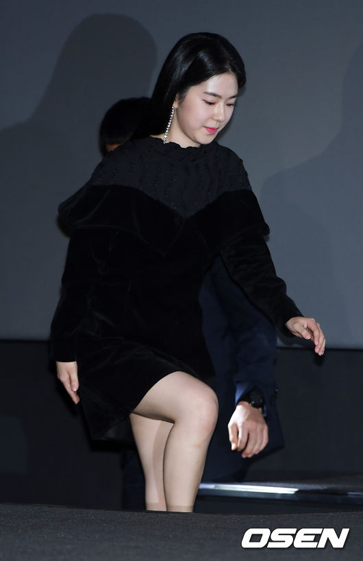 <p> 4 days afternoon afternoon Seoul Han CGV Yongsan I Park Mall Open in the movie Swing Kids Media Distribution premiere event in Park Hye-soo attended.</p>