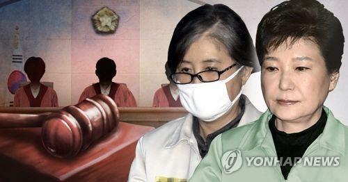 최순실과 박정희 전 대통령/연합뉴스