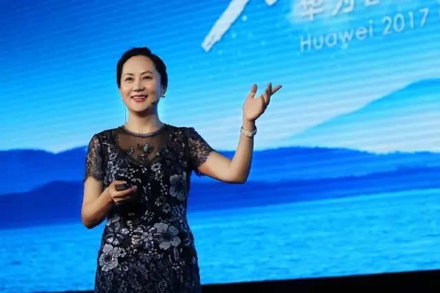 중국 최대의 통신장비 기업 화웨이의 최고재무책임자(CFO) 멍완저우(46)가 미국 정부의 요청으로 캐나다 당국에 체포됐다. 사진은 멍완저우가 대학 강연을 하는 모습. 신랑(시나) 블로그 갈무리