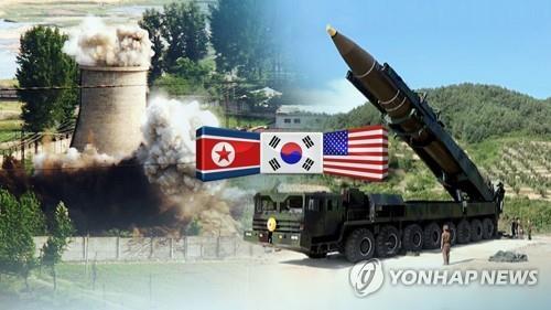 북한이 핵과 미사일 발사를 중단한 지 1년 (CG)