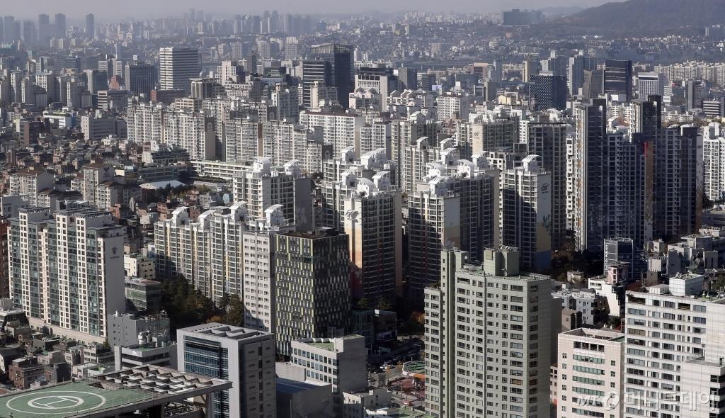 서울 시내 아파트 단지 전경. /사진제공=뉴시스