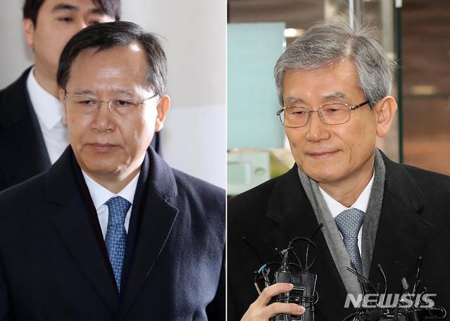 """박병대·고영한, 구속영장 동시기각..""""이미 증거수집됐다"""""""