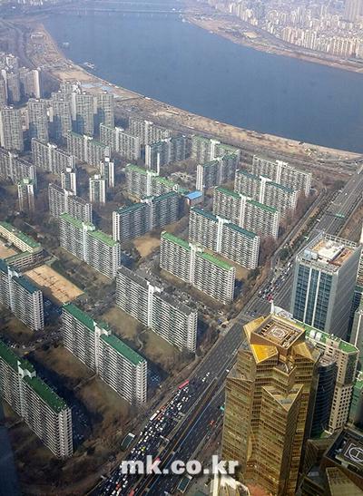 서울 강남 일대 아파트 단지 전경 [사진 이미연기자]