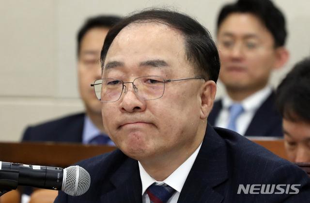 홍남기號 출항 임박..내주 초 취임할듯[원코인 토토|야놀자 토토]