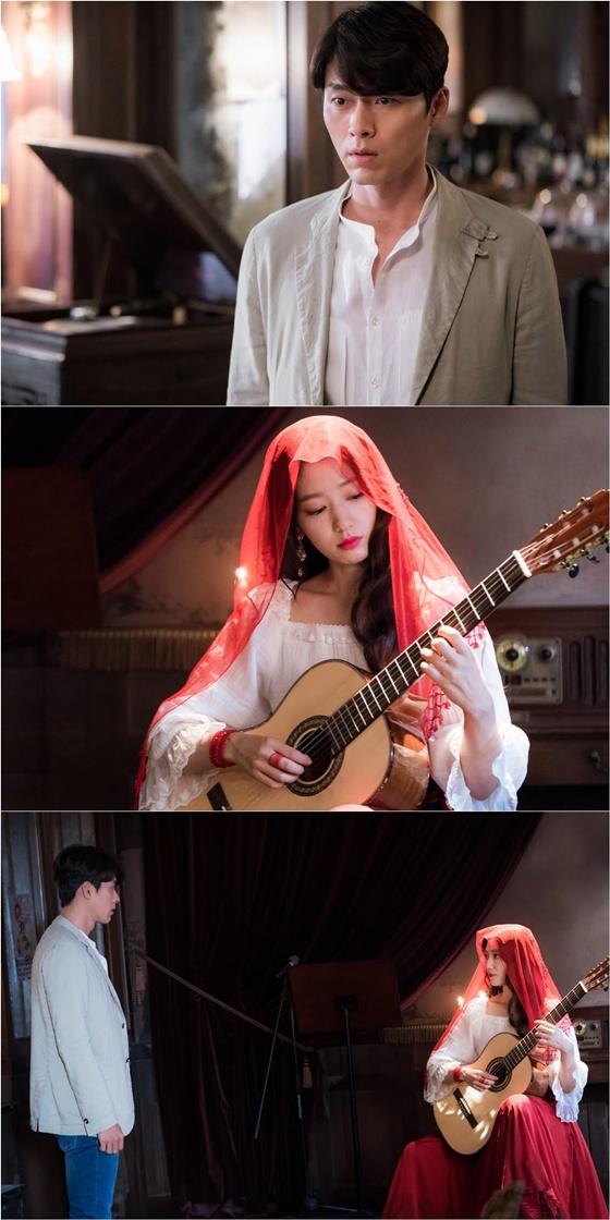 '알함브라' 현빈의 1년X붉은베일 쓴 박신혜..다 밝혀진다