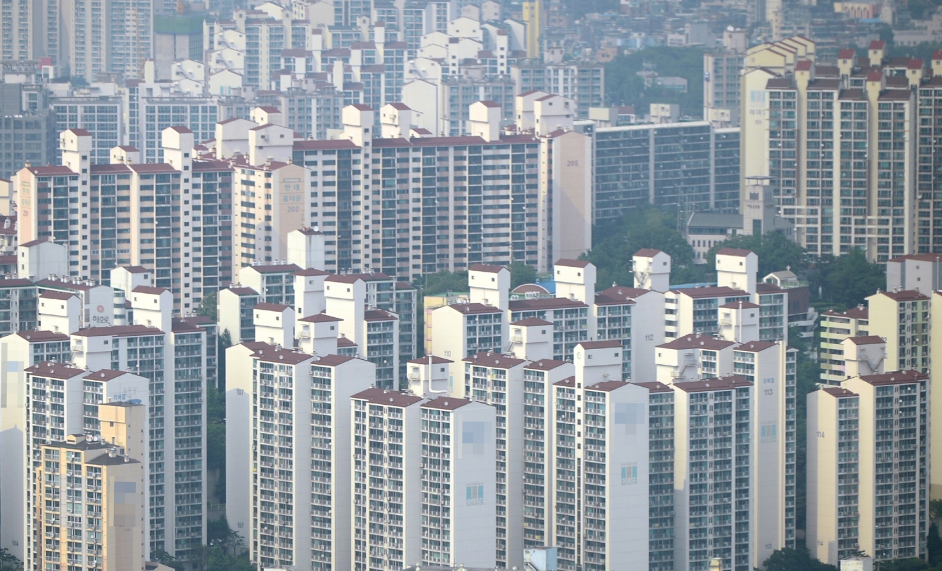 서울 시내 한 아파트 밀집 지역. /사진=뉴시스 DB