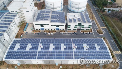 태양광 발전 및 에너지저장장치 [연합뉴스 자료사진]