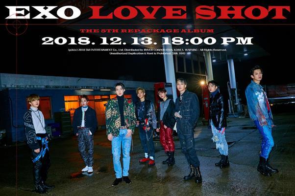 엑소 신곡 'Love Shot' 뮤직비디오 티저 영상이 공개됐다. SM엔터테인먼트 제공