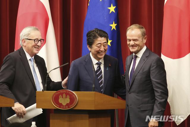 세계 최대 FTA 日·EU 경제동반자 협정 내년 2월1일 발효[크런키 토토|클로버 토토]