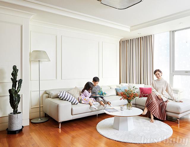 여배우 박탐희의 아이들과 소통하는 집