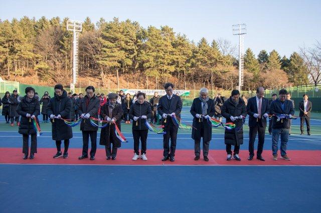 NH농협은행 올원 테니스파크 개장식
