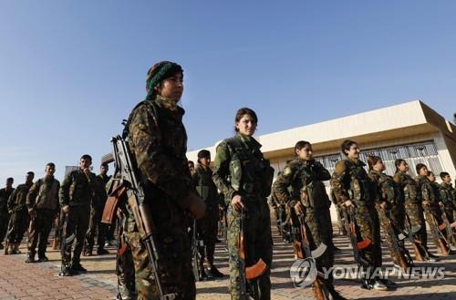 쿠르드·아랍연합 '시리아민주군'(SDF) [AFP=연합뉴스]