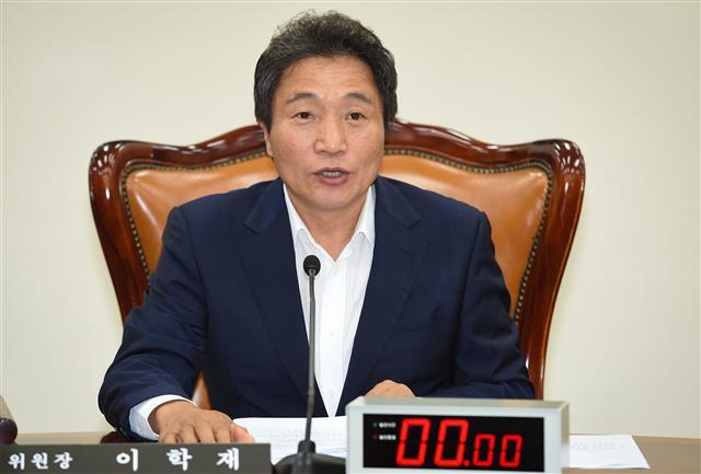 이학재 의원.연합뉴스