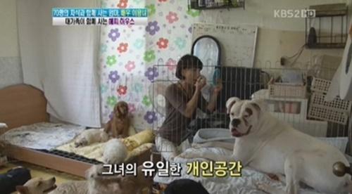 이용녀 재산탕진 사진= KBS2 '여유만만' 방송화면 캡처