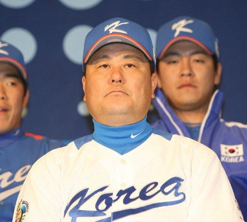 2009년 WBC 대표팀 김성한 코치