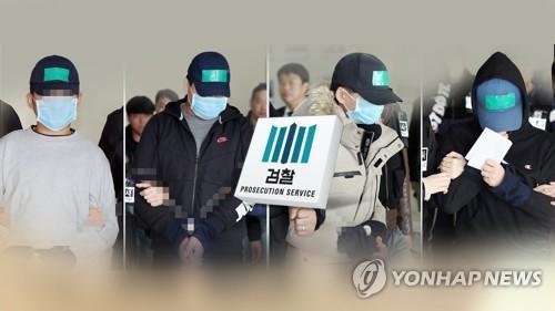 인천 중학생 집단폭행 10대들 검찰 송치 (CG) [연합뉴스TV 제공]