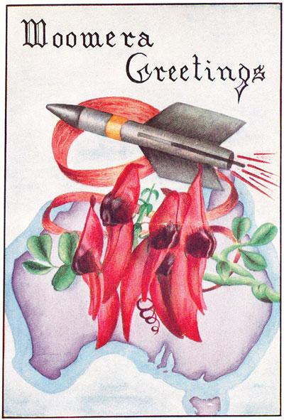 평화와 전쟁이 공존하는 1940년대 우메라 카드. 마틴 위머