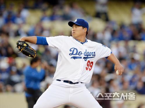 LA 다저스 류현진2014. 4.23. 로스앤젤레스 (미 캘리포니아주) | 최승섭기자 thunder@sportsseoul.com