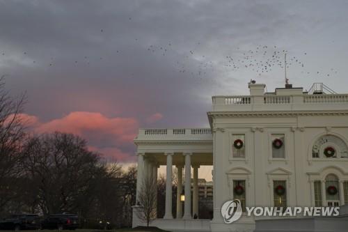 22일(현지시간) 미국 워싱턴 백악관의 모습 [AP=연합뉴스]
