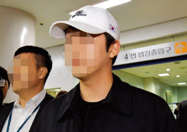 불법촬영물 유포 및 협박 혐의를 받고 있는 가수 구하라 씨의 전 남자친구 최모씨. [뉴스1]