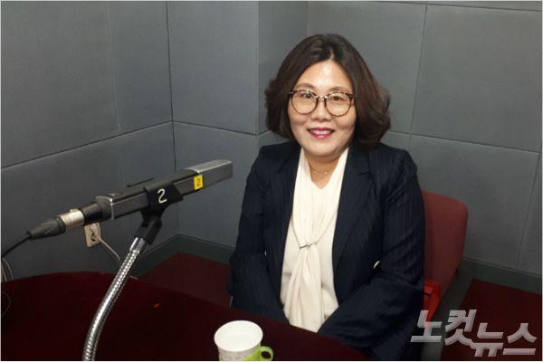 강원CBS'시사포커스 박윤경입니다'에 출연한 심영미 의원(사진=강원CBS)