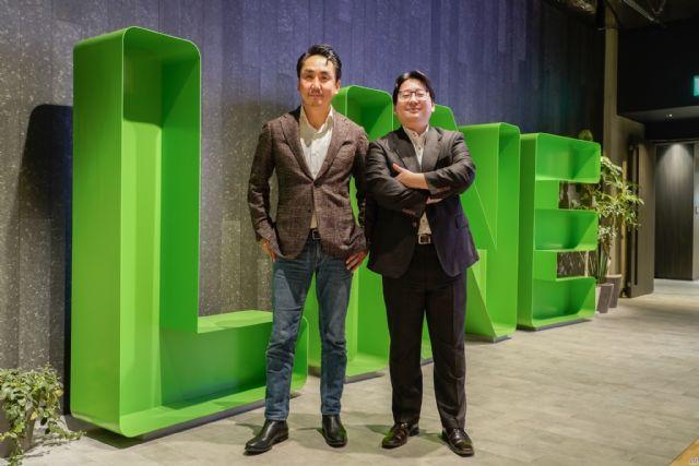 이데자와 타케시 대표(왼쪽), 마스다 준 최고전략마케팅 책임자(사진=씨넷재팬)