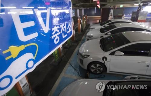 전기차 충전소 [연합뉴스 자료사진]