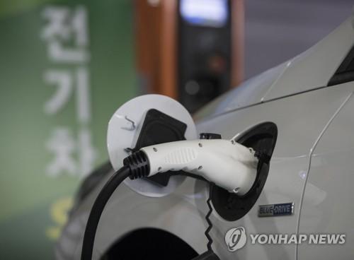 한전 전기차 충전소 [연합뉴스 자료사진]