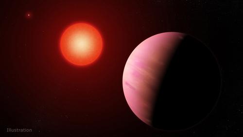 지구에서 226광년 떨어진 곳에서 찾은 외계행성 'K2-288Bb' 상상도 [NASA 고다드 우주비행센터/프란시스 레디 제공]