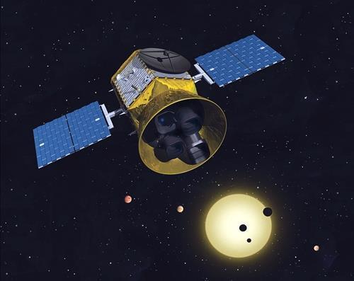 테스(TESS) 상상도 [NASA/MIT 제공]