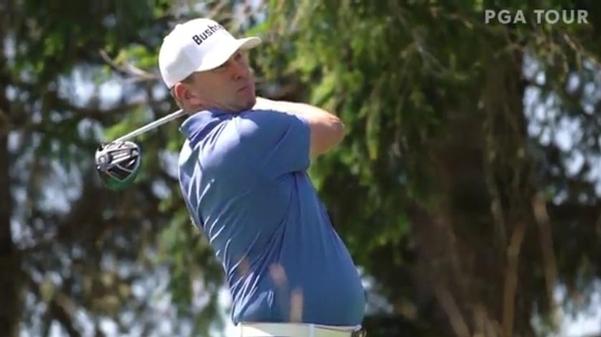 크리스 톰프슨은 프로 전향 19년 만에 PGA 투어에 입성했다./PGA투어 동영상