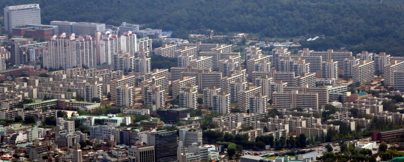 서울시내 한 아파트 밀집 지역. /사진=뉴시스 고범준 기자