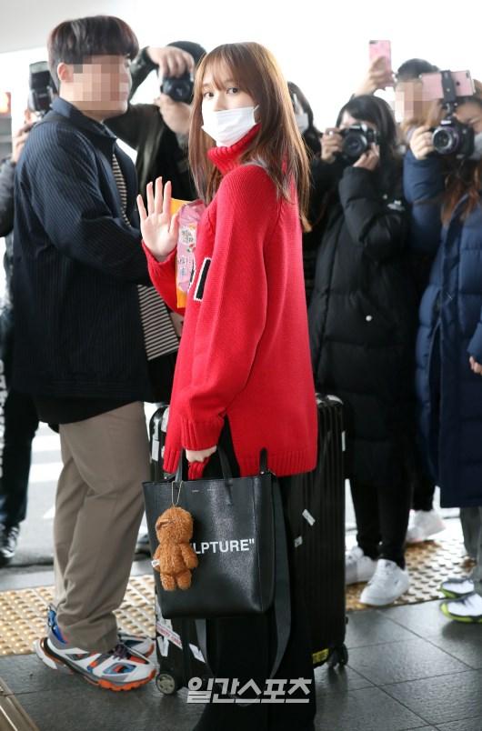 [포토] 휴가 마치고 돌아온 트와이스 미나