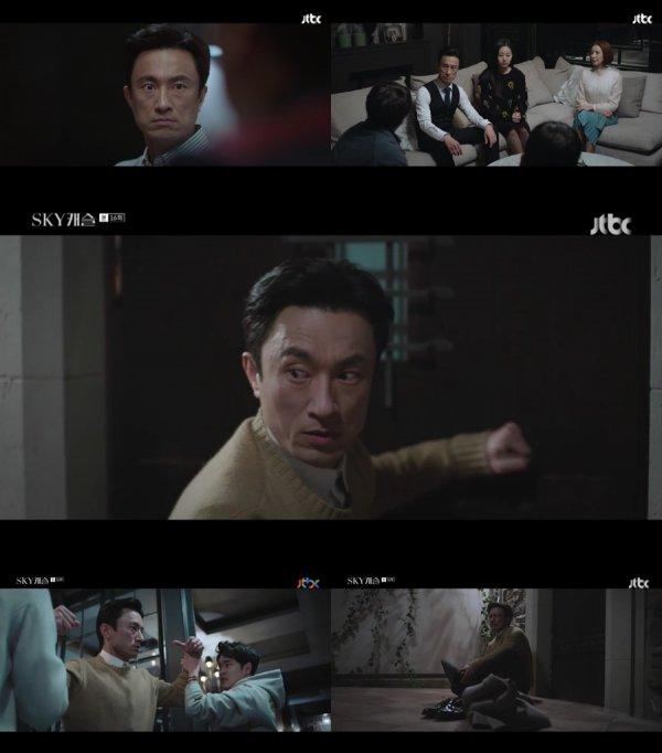 'SKY캐슬' 김병철, 쫓겨난 야망의 화신 '美친 존재감' [TV북마크]