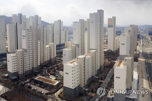 세종시 행정중심복합도시 아파트 [연합뉴스 자료사진]