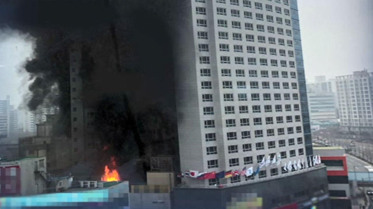 천안 호텔서 큰불..1명 생사불명 · 18명 부상