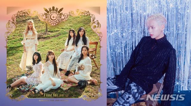 그룹 '여자친구'(왼쪽), 이민혁