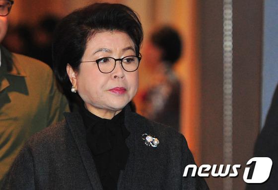 김윤옥 여사.2 016.1.22/뉴스1 © News1 최창호 기자