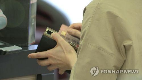 카드 결제 [연합뉴스TV 제공]