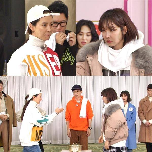 <p>Recent progress with the Running Man recording in showbiz to represent fighting upper guest Lee Yoo-ri, Jung Yu mi, Hong Jong-Hyun, victory, AOA Jimin and Mina starred by paired peek-a-Boo lace decorated in the level up project files paneldecoration.</p><p>This day even peek-a-Boo selected as a mission during the national powers Lee Yoo-ri and Running Man, Song Ji-hyo with one man and leave the situation you unfold. This water indeed bring bring Battle to the loser necessarily degrading the water baptism of the penalty, exceeding stiff and bloody flame of Battle to the shooting scene to hide the leather is made. A fierce mystery to one man and the identity of the winner is broadcast over the public.</p><p>Meanwhile, this day in the broadcast that Lee Yoo-ri pole and pole cute reverse attraction activities. Stamina still in the mission strong fighting spirit and unlike the stamina with a laugh, while during the race running..... take it!And his sneakers in the insole directly out of the insole fight marriageup to the line to shoot the most.</p><p>Cute and bloody to which Lee Yoo-ri of the reverse auction and Lee Yoo-ri vs Song Ji-hyoof the flame Bouncing front to win this afternoon at 5 broadcast of Running Man.</p>