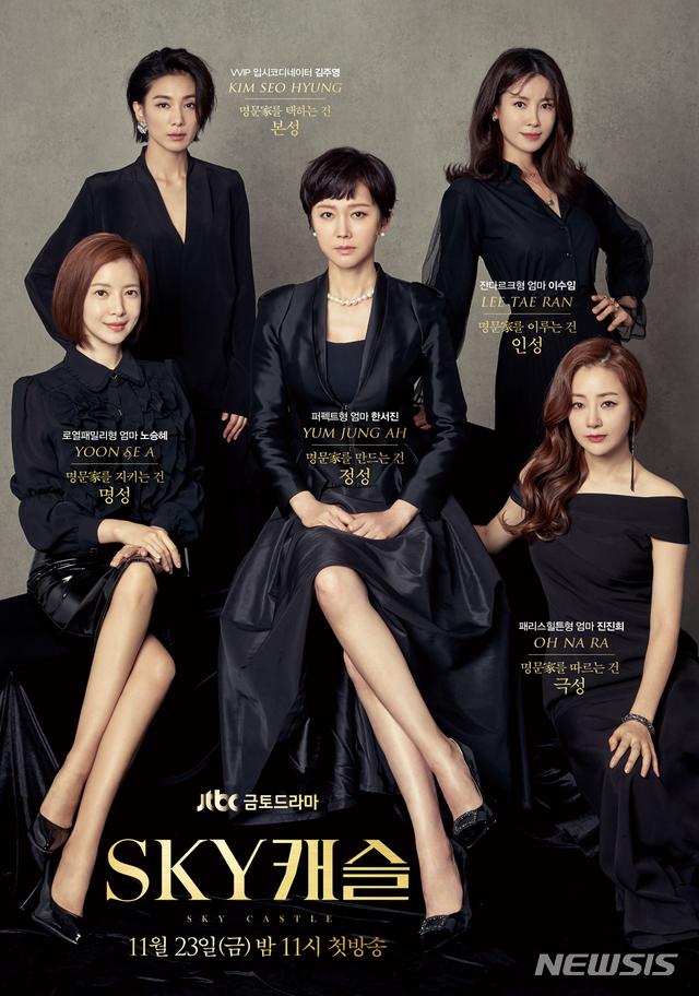 JTBC 금토드라마 'SKY 캐슬'