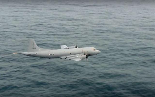 해상초계기 P-3. 록히드마틴 홈페이지 캡처.