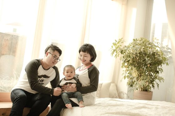 이수진(32)씨의 가족사진. [독자 제공]